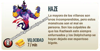 imagen de la descripcion del monstruo haze