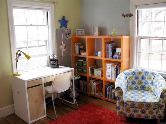 Reciclar, reformar e decorar Quarto para estudos! ~ Como Fazer Uma Mesa De Estudo Para Quarto