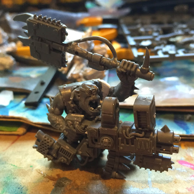 40K Campaign; Warboss; Battle Gaming One; Fork