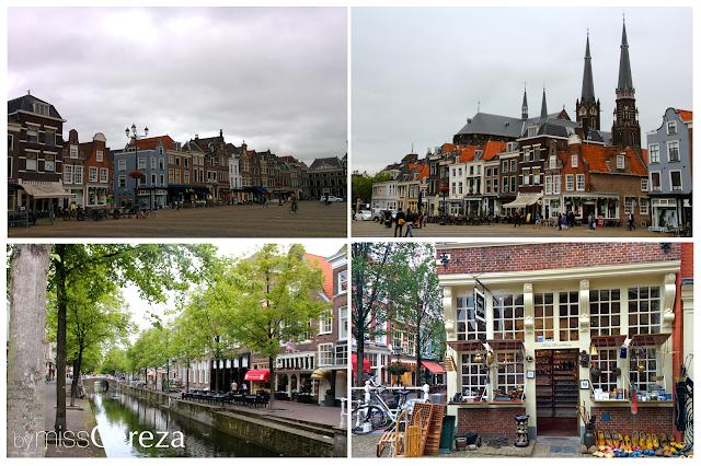 visita a Delft, Holanda