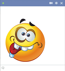 Whacky Smiley for Facebook