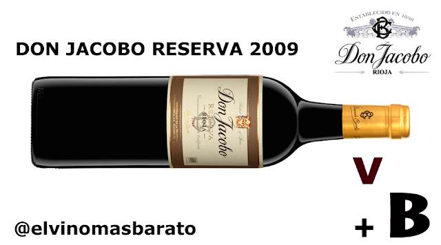 Cata del vino tinto don jacobo reserva 2009 por el blog de vino