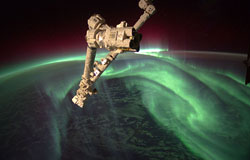 Aurora Australis (southern lights)