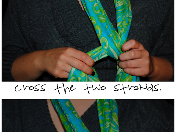 How to Tie a Scarf: The Bow