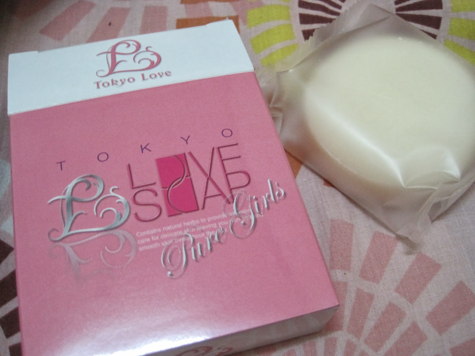 What Adventures?: Tokyo Love Soap Pure Girl Review