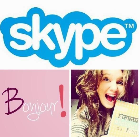 Lekcje francuskiego z pasją przez Skype'a !