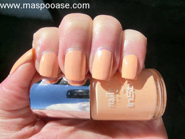 Nails Inc Youre a Peach review