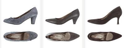 Zapatos de tacón de piel por sólo 35€