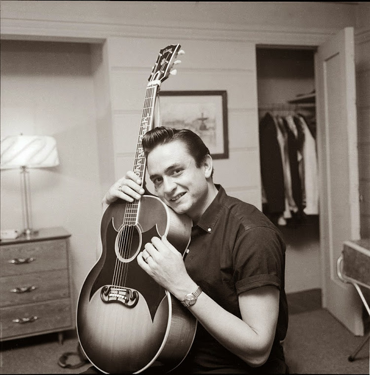 Johnny Cash, 1958.