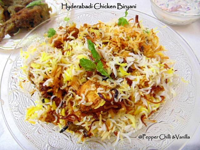 Hyderabadi chicken biryanihyderabadi chicken biryani recipe kache ghost ki biryani recipeauthentic hyderabadi chicken biryani recipe india is blessed with good food forumfinder Image collections