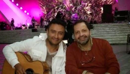 Alex Campos y cantante católico juntos en concierto ecuménico en el Vaticano