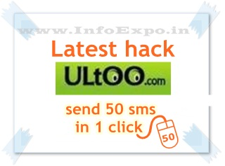 www.infoexpo.in -- Download nUltoo latest sms Api hack to send 50 sms in a click