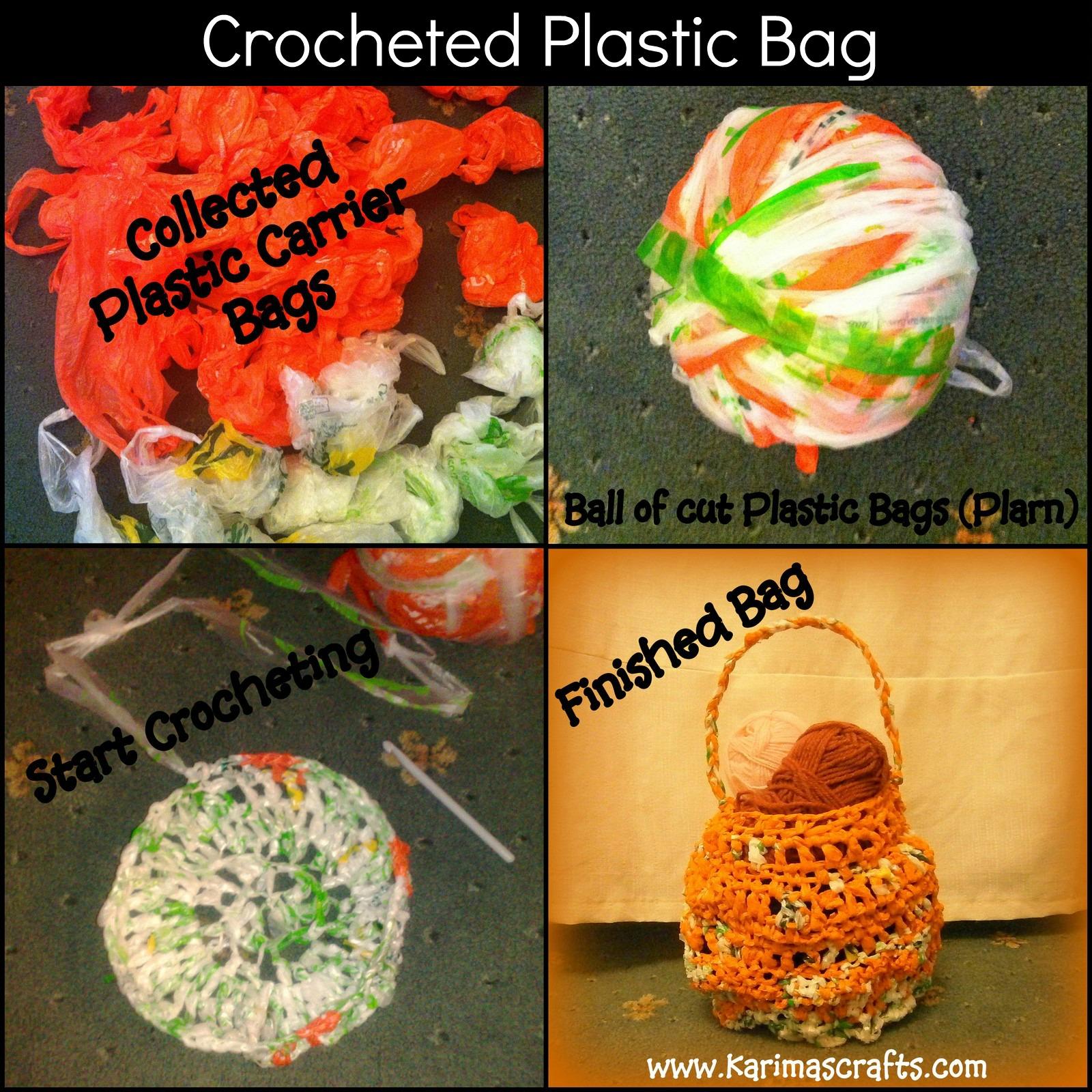 crocheted plastic bags upcycle muslim blog