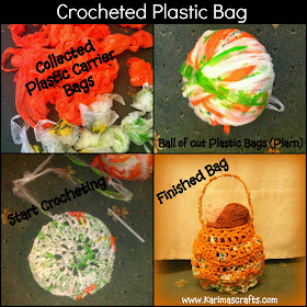 crocheted plastic bags upcycle muslim blog