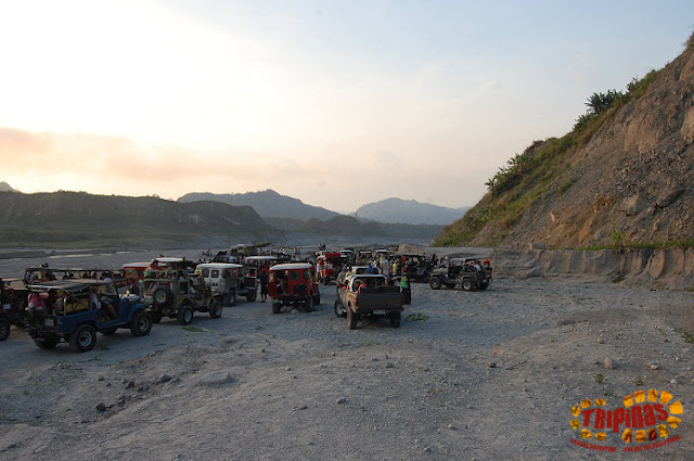 transportation to mount pinatubo crater
