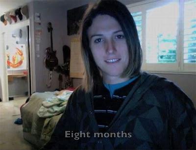14 Gambar Lelaki Jadi Wanita Dalam Masa 13 Bulan