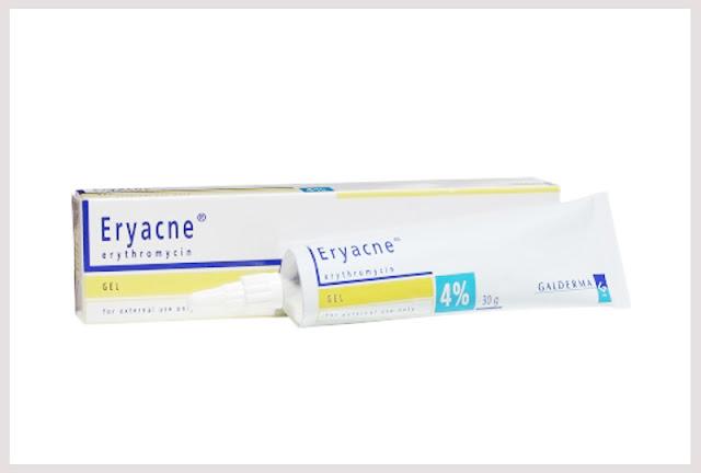 ยาแต้มสิว Eryacne erythromycin 4%