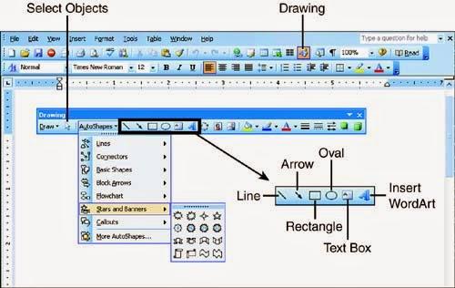 Tìm thanh vẽ drawing trên word 2013