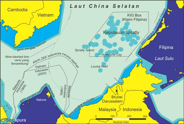 Indonesia dalam Konflik Laut China Selatan