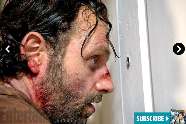 The Walking Dead 4x09 en EW - Rick