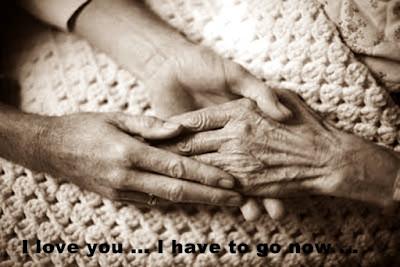 Grandma says goodbye
