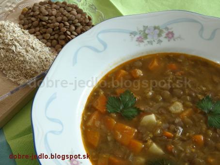 Slovenská šošovicová polievka - recepty