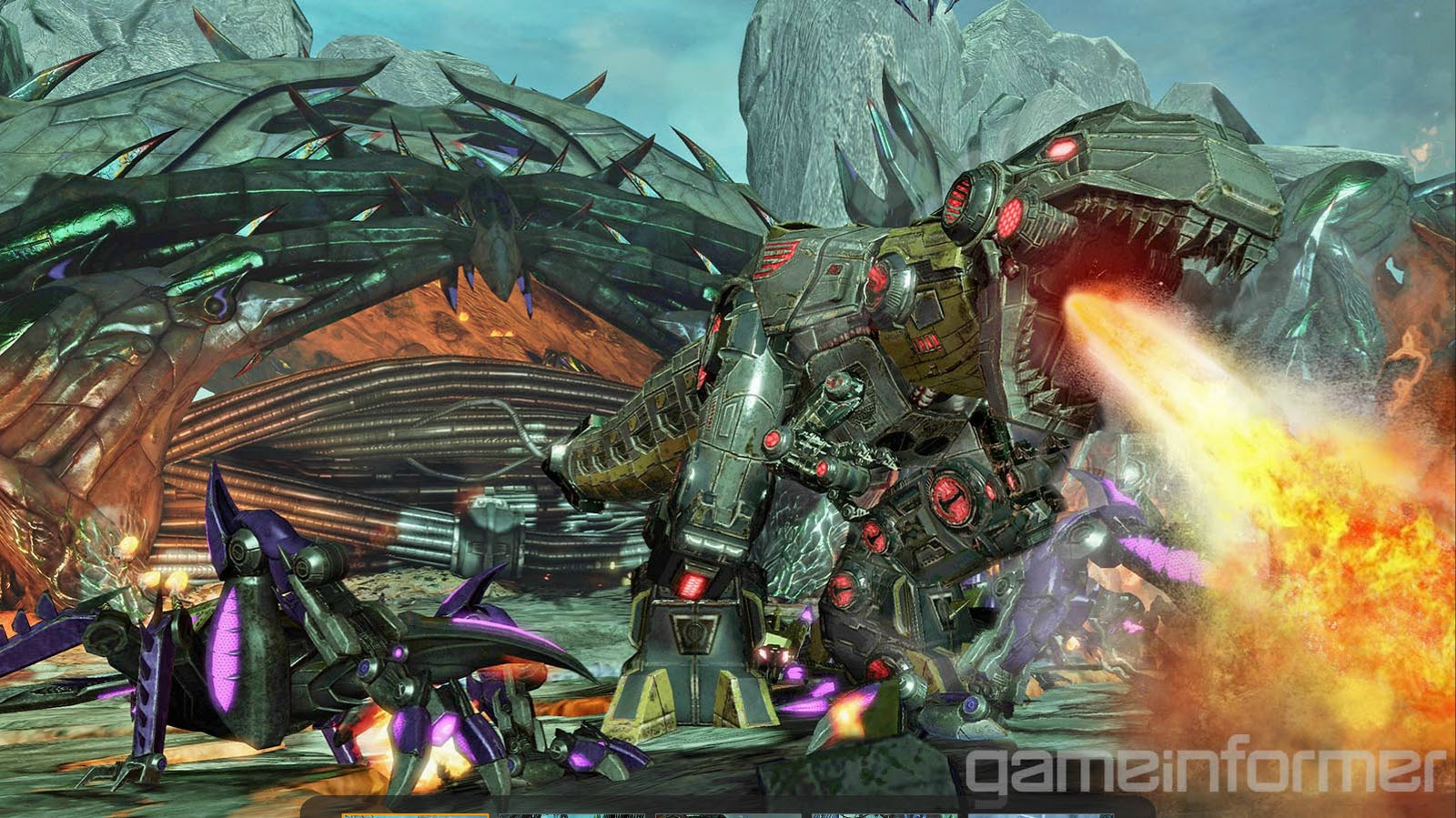 The blog that time forgot transformers fall of cybertron - Dinosaure transformers ...