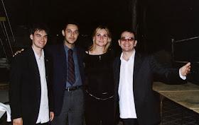 Con Salvo e Nino Silvio e Tania Ruvolo