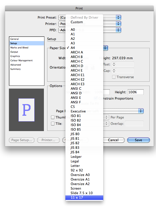 show centrefold on indesign pdf spreads
