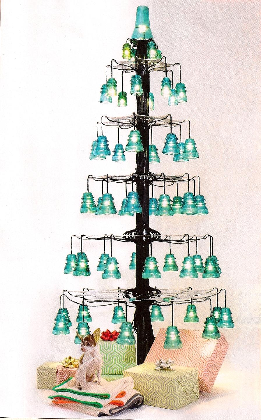 Dishfunctional designs vintage glass insulator crafts