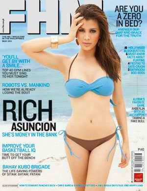 FHM Philippines Cover Girls