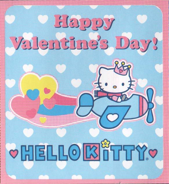 Hello Kitty Valentine Greetings – Hello Kitty Valentine Cards