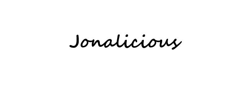 Jonalicious