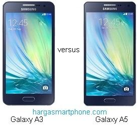 Harga dan Perbedaan Samsung Galaxy A3 dengan A5