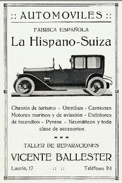 1919 La Hispano-Suiza