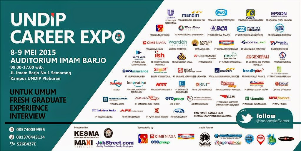 UNDIP Career Expo 2015