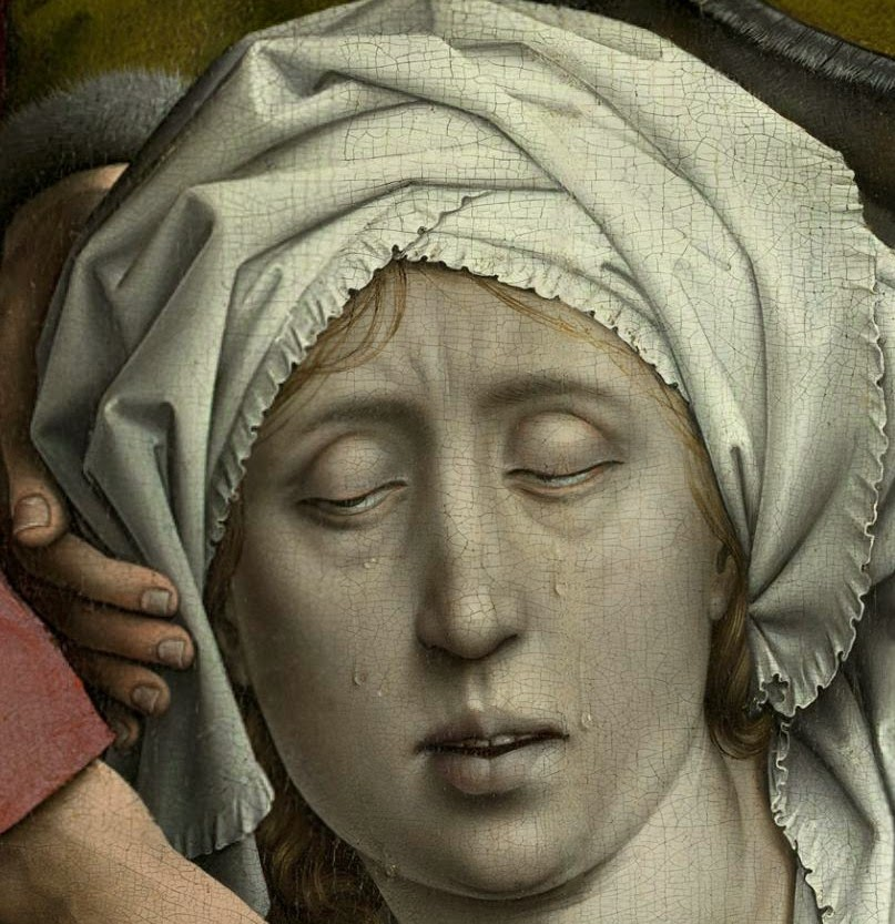an analysis of the deposition by rogier van der weyden