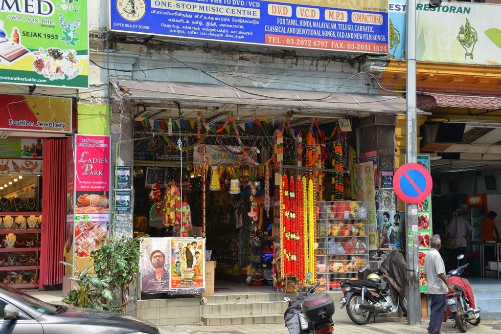 Little India Kuala Lumpur shops