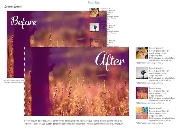 resize blogger images automatically