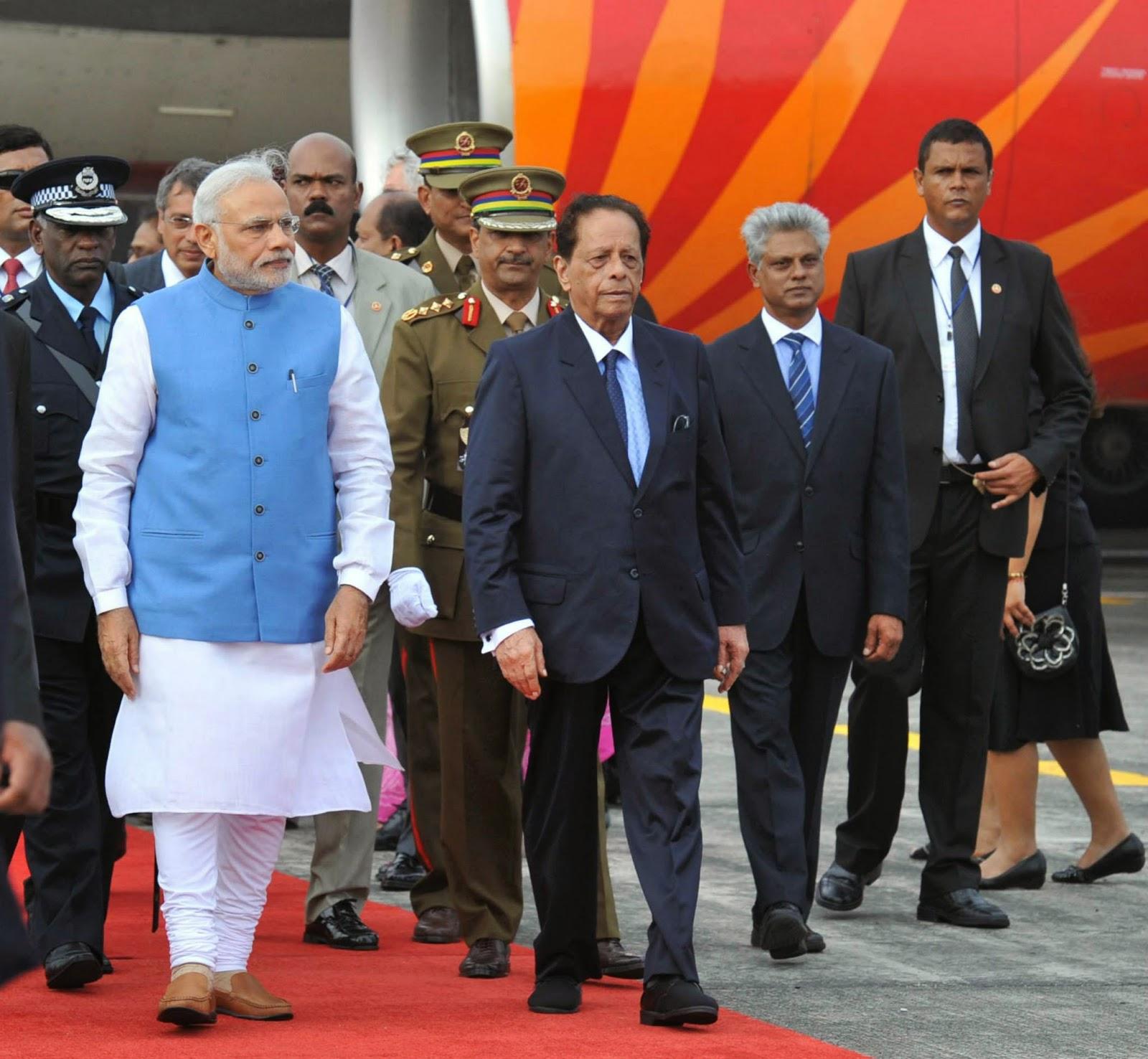 Narendra Modi in Mauritius