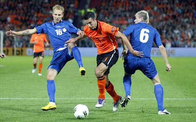 Holland 1 - 0 Moldova (1)