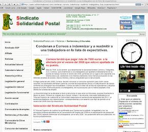 06/10/2012-SOLIDARIDAD POSTAL.COM