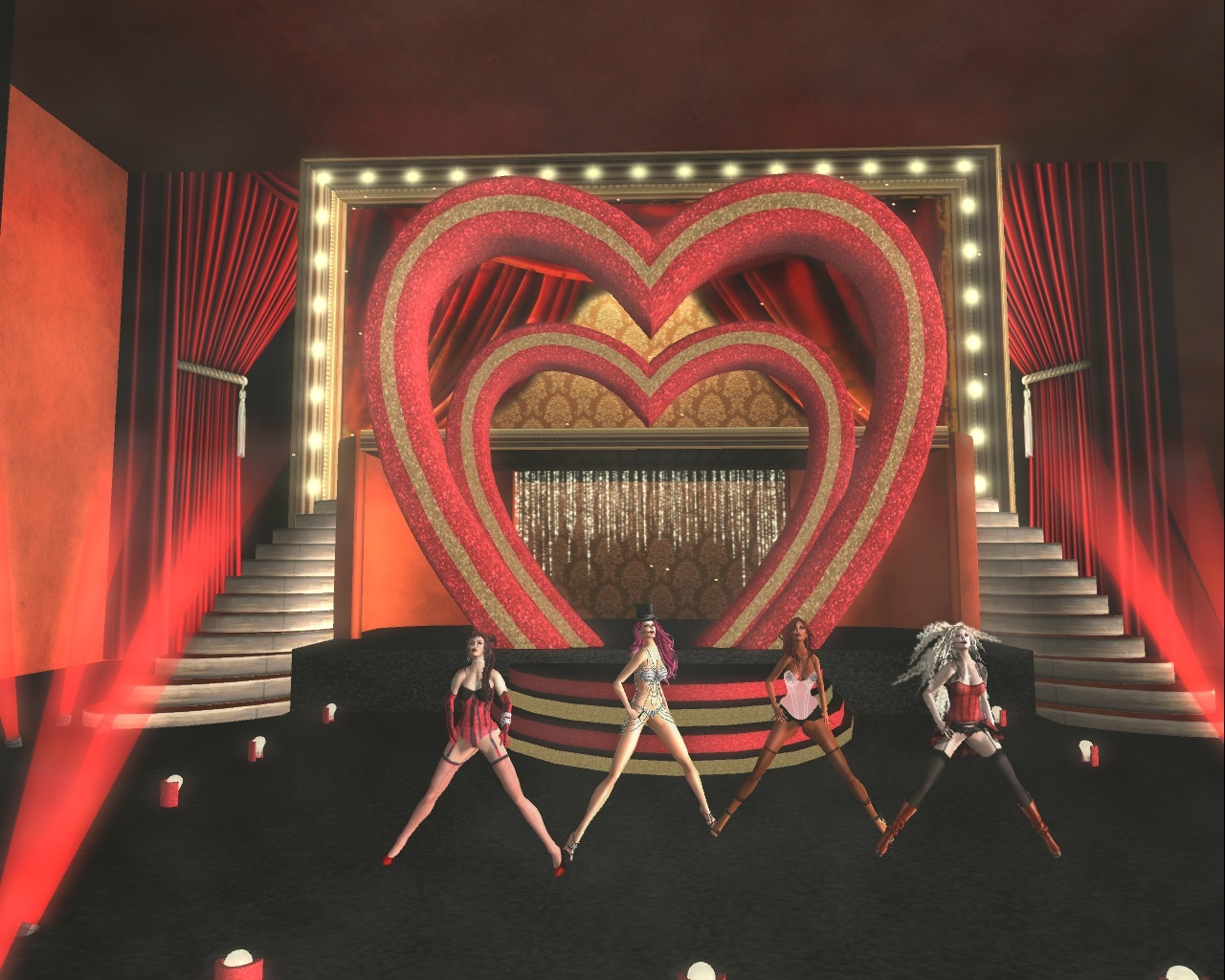 """Second Life Newser: """"Moulin Rouge"""" At The Roseland Theater"""