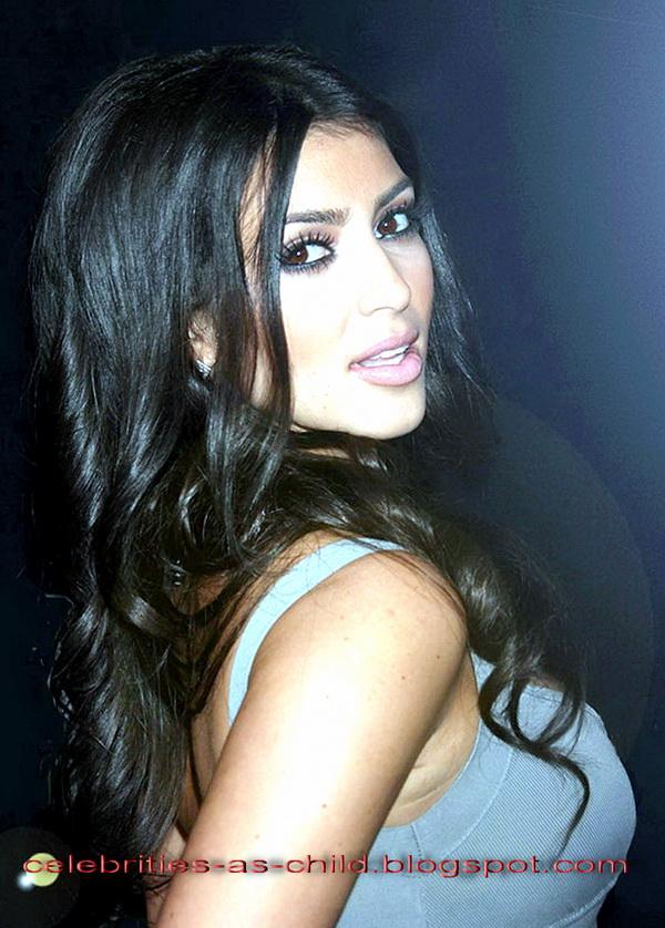 Young Kim Kardashian Photos Celebrities As A Child...