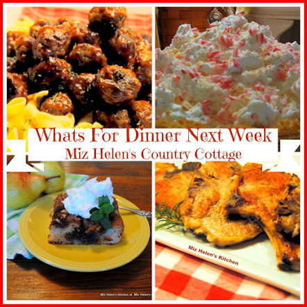 Whats For Dinner Next Week * Week Of 12-17-17