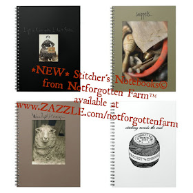 *NEW* Stitcher's Notebooks© from Notforgotten Farm™