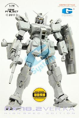 1/72 RX-78-2 Gundam Ver.Ka. (High Spec. Edition)
