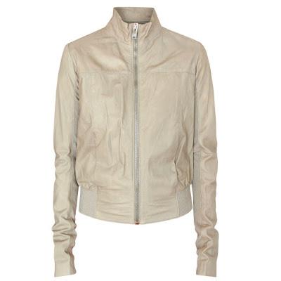 rick owens bubble bomber jacket
