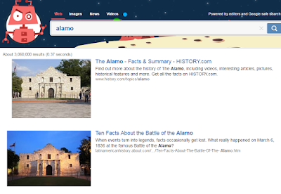 alamo search results