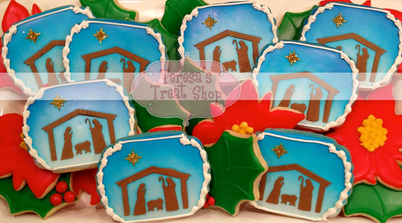 Teresa S Treat Shop Nativity Cookies